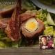 Scotch Egg & Bacon Caesar Salad