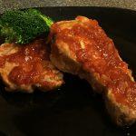 Baked Devilled Pork Chops