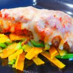 Pork Parmagiana with Butternut Squash and Zucchini