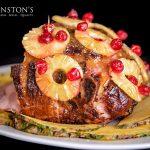 Caribbean Pineapple Honey Glazed Ham